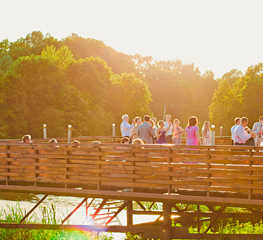 Организация свадьбы в усадьбе Валуево: веранда