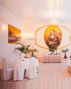 Организация свадьбы в усадьбе Валуево: банкетный зал