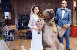 Лесная свадьба на веранде