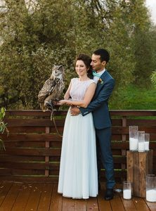 Сова на свадьбе в усадьбе