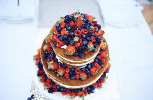 Торт в рустикалном стиле