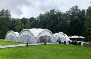 Усадьба Валуево шатер у Дворца