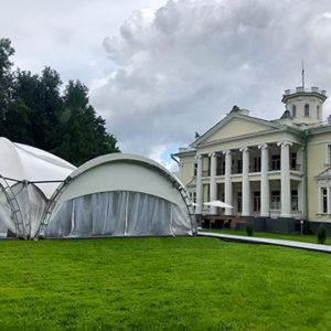 Шатер в усадьбе Валуево