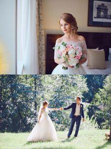 Алена и Дмитрий свадьба в усадьбе Валуево