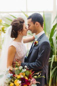 Свадьба осенью в усадьбе