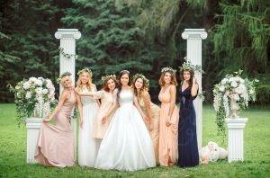 Тематическая греческая свадьба в шатре