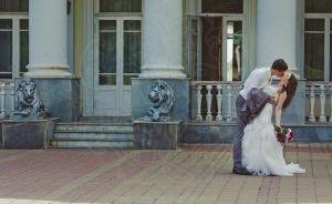 Усадьба Валуево дворец со львами