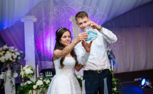 Песочное шоу на свадьбе Насти и Артема