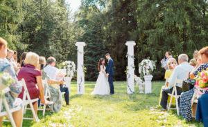 Выездная регистрация брака Насти и Артема
