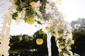 Идеи для декора яблочной свадьбы