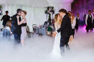 дым для первого танца