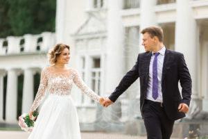 Прогулка в усадьбе Валуево на свадьбе