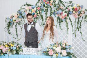Свадьба в усадьбе в шатре Валуево