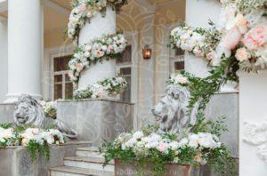 Оформление усадьбы для проведения свадьбы