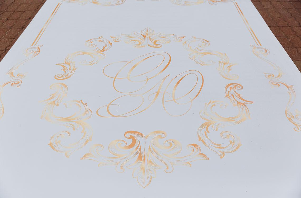 Логотип свадьбы в усадьбе