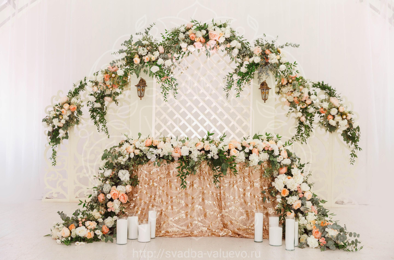 Оформление свадьбы в шатре