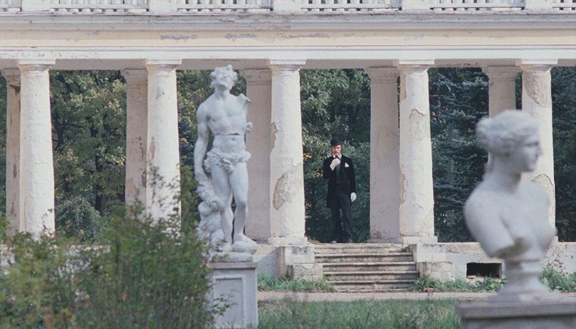 колоннада в усадьбе Валуево