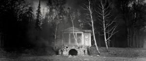 Съемки фильма Война и мир в усадьбе Валуево