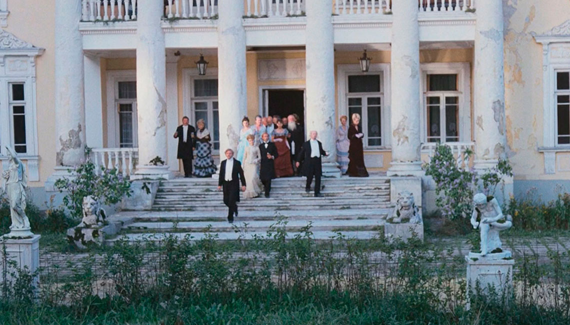 Фильмы снятые в Усадьбе Валуево