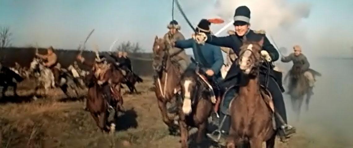 Война и Мир съемки в усадьбе Валуево